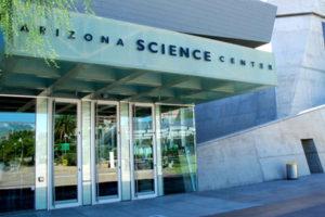 Lobby of the Arizona Science Center